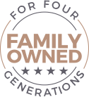 Family Owned for 4 Generations