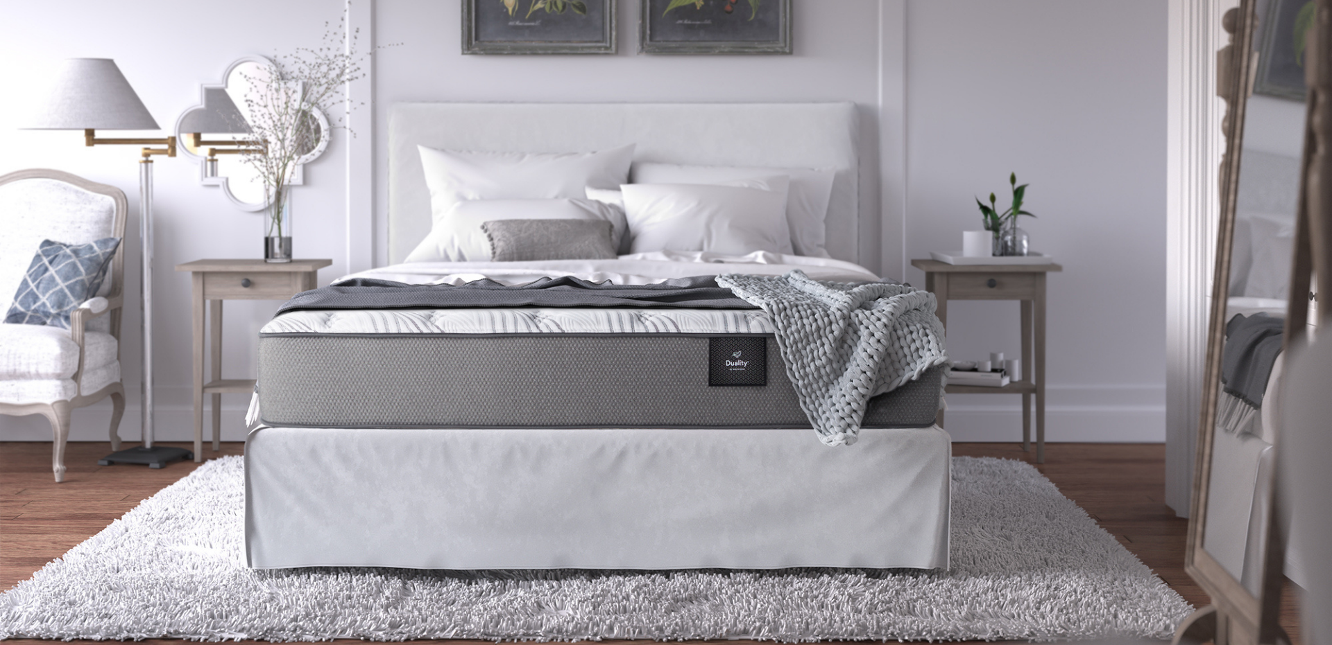 Duality Mattress Collection by White Dove Mattress